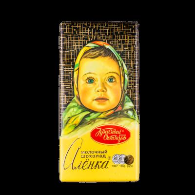 шоколад Аленка 90 г 1уп.х 15 шт.