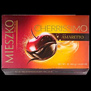 конфеты MIESZKO CHERRISSIMO AMARETTO 285 г 1 уп.х 7 шт.