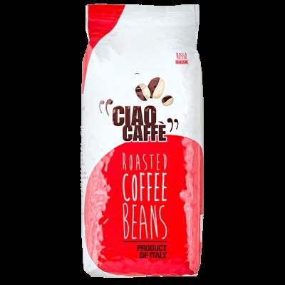 кофе CIAO CAFFE ROSSO CLASSIC 1 кг зерно 1уп.х 6 шт.