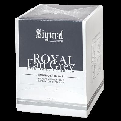 чай SIGURD 'ROYAL EARL GREY' 20 пирамидок 1 уп.х 8 шт.