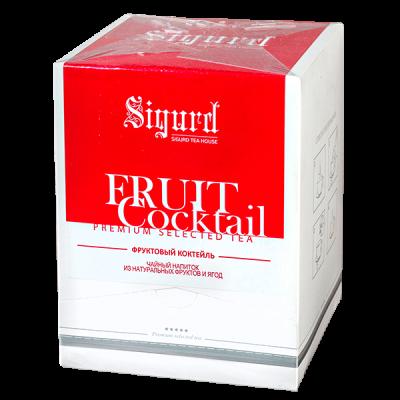 чай SIGURD 'FRUIT COCTAIL' 20 пирамидок 1 уп.х 8 шт.