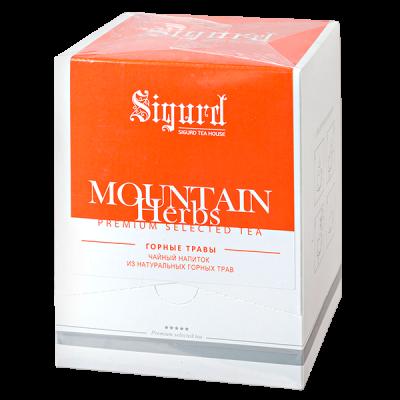 чай SIGURD 'MOUNTAIN HERBS' 20 пирамидок 1 уп.х 8 шт.