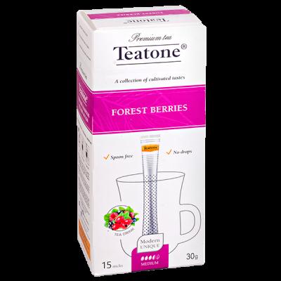 чай TEATONE 'FOREST BERRIES' 15 стиков 1 уп.х 12 шт.