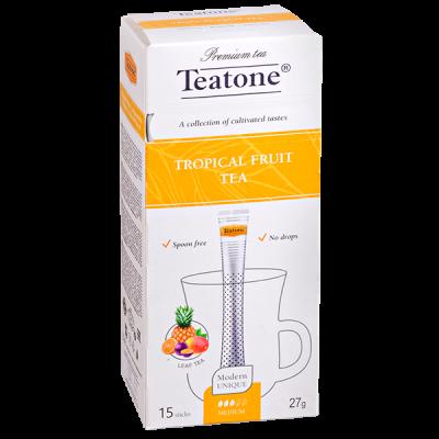 чай TEATONE 'TROPICAL FRUIT' 15 стиков 1 уп.х 12 шт.