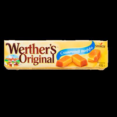 конфеты Werther's Original Сливочный тоффи 48 г 1 уп.х 24 шт.