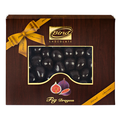 конфеты BIND CHOCOLATE Fig Dragees 100 г 1 уп.х 12 шт.