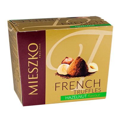 конфеты MIESZKO CLASSIC TRUFFLES cо вкусом ореха 175 г 1 уп. х 16 шт.