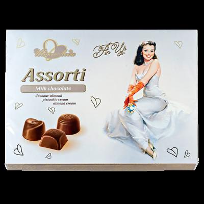 конфеты Шоколеди Milk с ореховыми начинками 195 г 1 уп.х 10 шт.