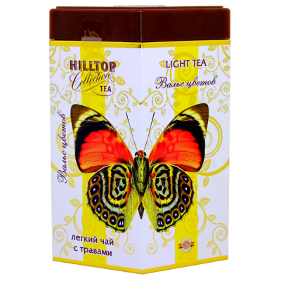 чай HILLTOP подарочный ромб 'Вальс цветов' ж/б 100 г