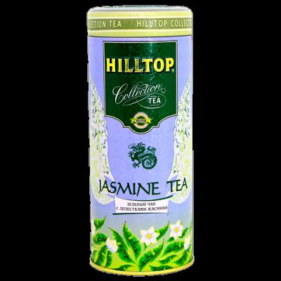 чай HILLTOP подарочная туба 'Жасминовый' ж/б 100 г 1 уп.х 12 шт.
