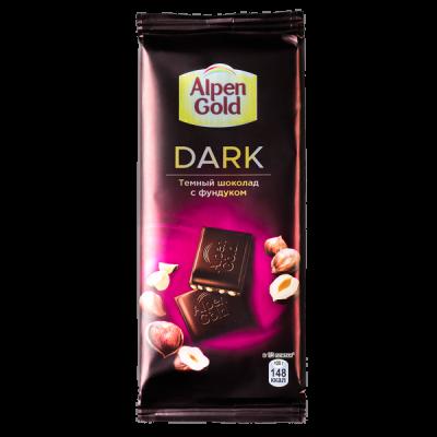 шоколад Альпен Гольд Дарк с фундуком 85 г 1 уп.х 21 шт.