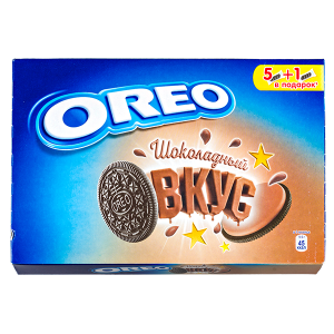 печенье Орео Шоколадный вкус 228 г 1 уп.х 12шт.