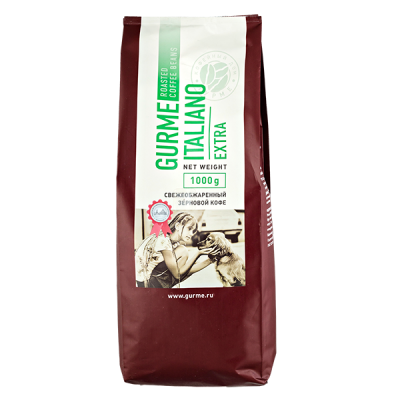 кофе GURME ITALIANO EXTRA 1 кг зерно