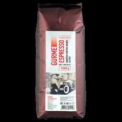 кофе GURME ESPRESSO SUNRISE 1 кг зерно