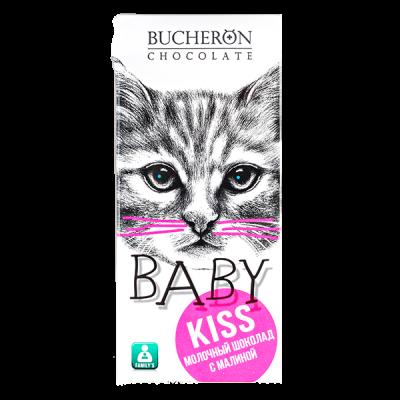 шоколад BUCHERON BABY Молочный с Малиной 50 г 1 уп.х 10 шт.
