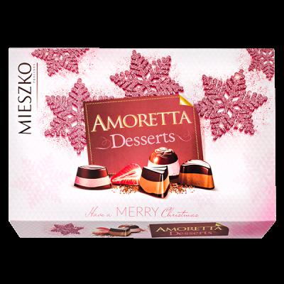 конфеты MIESZKO AMORETTA DESSERTS 276 г 1 уп.х 7 шт.