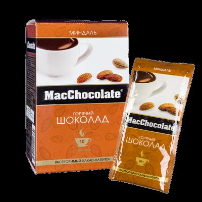 напиток Какао Макшоколад Миндаль 20 г 1 уп.х 10 шт.