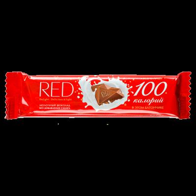шоколад RED Delight молочный 26 г 1 уп. х 24 шт.