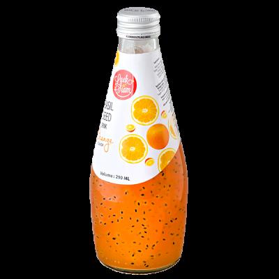 напиток BASIL SEED DRINK Luck Siam Orange 290 МЛ СТ/Б 1 уп.х 24 шт.