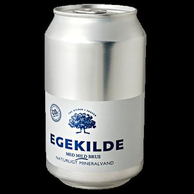 напиток EGEKILDE Naturligt Mineralvand 330 мл  Ж/Б 1 уп.х 24 шт.