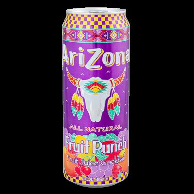 напиток ARIZONA Fruit Punch 680 мл  Ж/Б 1 уп.х 24 шт.