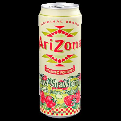напиток ARIZONA Kiwi Strawberry 680 мл  Ж/Б 1 уп.х 24 шт.