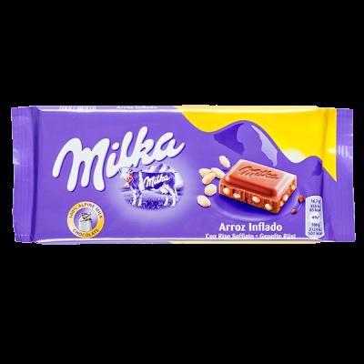 шоколад Милка Arroz Inflado 100 г 1 уп.х 20 шт.