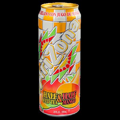 напиток ARIZONA Half Iced Tea & Half Mango 680 мл  Ж/Б 1 уп.х 24 шт.