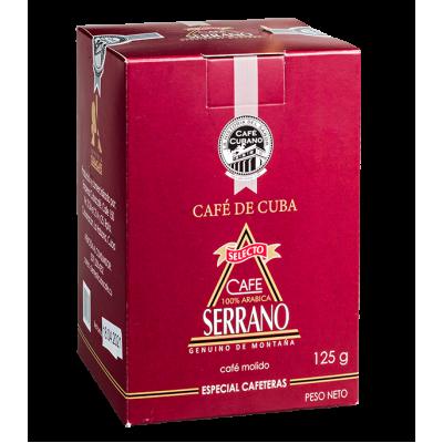 кофе SERRANO SELECTO 125 г молотый 1 уп.х 48 шт.