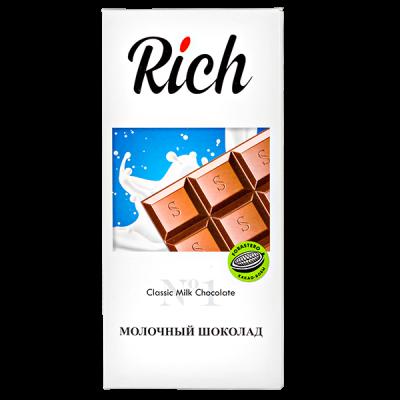 шоколад RICH Молочный 70 г 1уп.х 10шт.