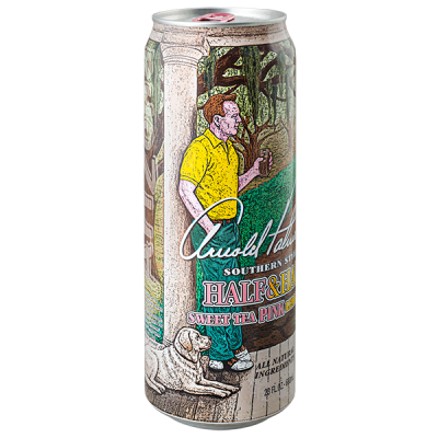 напиток ARIZONA Arnold Palmer Half Sweet tea PINK & Half Lemonade 680 мл  Ж/Б 1 уп.х 24 шт.