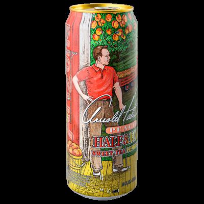 напиток ARIZONA Arnold Palmer PEACH Half Sweet tea & Half Lemonade 680 мл  Ж/Б 1 уп.х 24 шт.