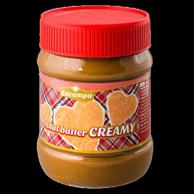 арахисовая паста ENCAMPA PEANUT BUTTER CREAMY 340 г 1 уп.х 12 шт.