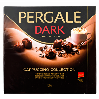 конфеты PERGALE CAPPUCCINO COLLECTION 130 г 1 уп. х 10 шт.