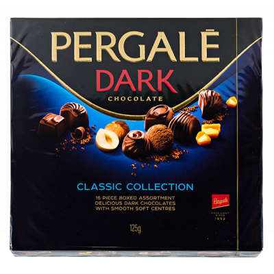 конфеты PERGALE DARK CLASSIC COLLECTION 125 г 1 уп. х 10 шт.