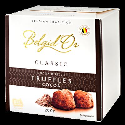 конфеты Belgid 'Or TRUFFLES COCOA 200 г 1 уп.х 12 шт.