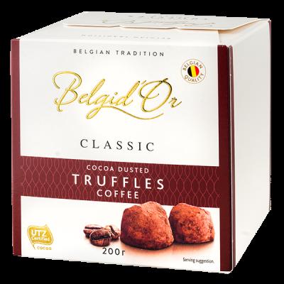 конфеты Belgid 'Or TRUFFLES COFFEE 200 г 1 уп.х 12 шт.