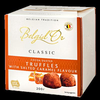 конфеты Belgid 'Or TRUFFLES SALTED CARAMEL 200 г 1 уп.х 12 шт.