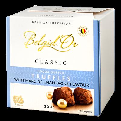 конфеты Belgid 'Or TRUFFLES MARC DE CHAMPAGNE 200 г 1 уп.х 12 шт.