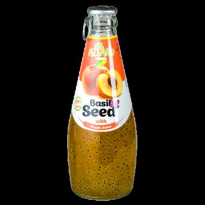 напиток AZIANO Basil Seed Peach 290 мл СТ/Б 1 уп.х 24 шт.