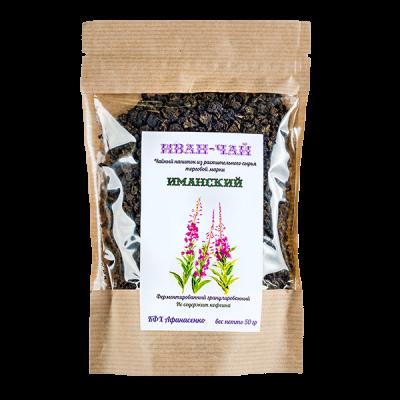 чайный напиток ИВАН-ЧАЙ Иманский малиновый лист 50 г