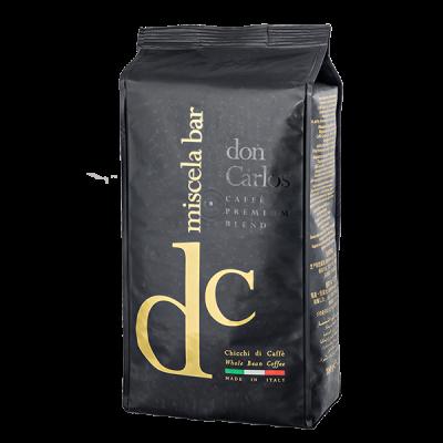 кофе CAFFE DON CARLOS miscela bar 1 кг зерно