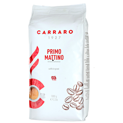 кофе CARRARO PRIMO MATTINO 1 кг зерно