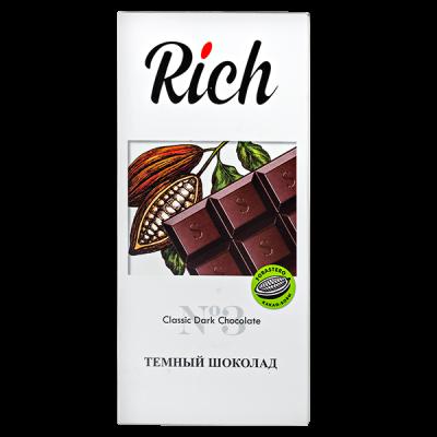 шоколад RICH Темный 70 г 1уп.х 10шт.