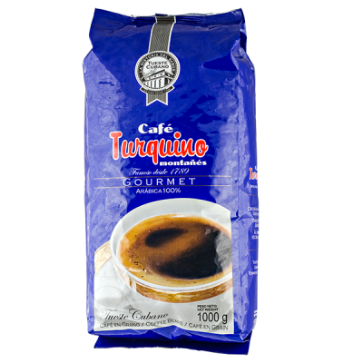 кофе TURQUINO MONTANES 1 кг зерно
