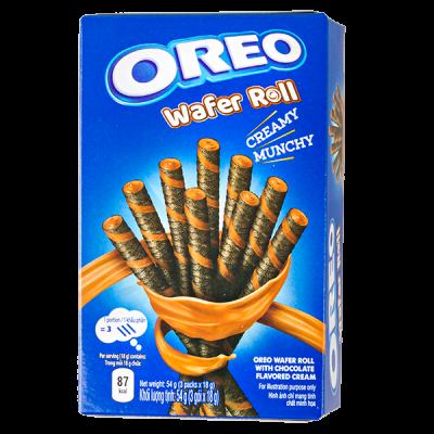 печенье Орео WAFER ROLL CHOCOLATE 54 г 1уп.х 20 шт.