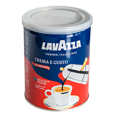 кофе LAVAZZA CREMA E GUSTO 250 г ж/б Молотый 1 уп.х 12 шт.
