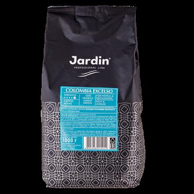 кофе ЖАРДИН COLOMBIA EXCELSO 1 кг зерно 1 уп.х 6 шт.