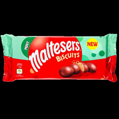 печенье Maltesers Biscuits Mint 110 г 1 уп.х 14 шт.