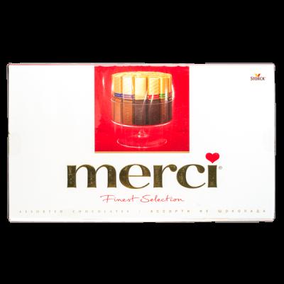 конфеты Мерси 400 г 1 уп.х 8 шт.